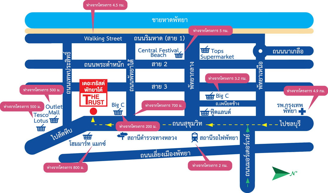 map_พัทยาใต้
